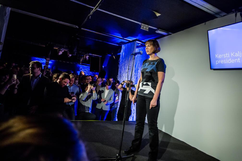 Slush - Kersti Kaljulaid