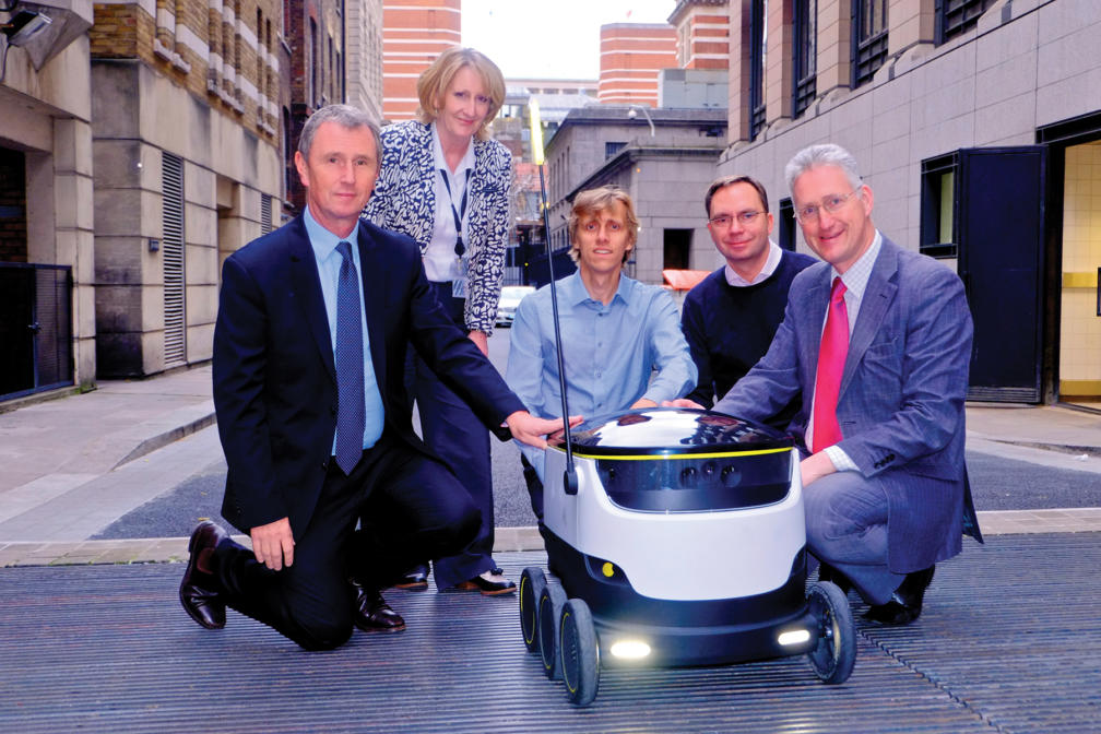 Delivery Robots investors